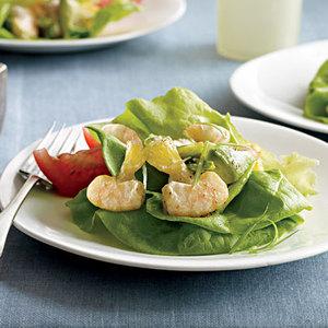 Citrus Shrimp-and-Avocado Salad