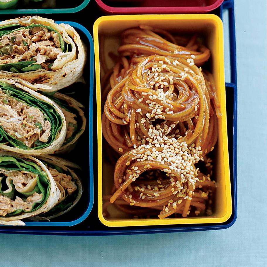 Cold Ginger, Soy and Honey Sesame Noodles