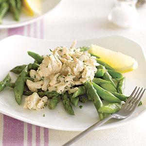 Creamy Crab and Asparagus Salad