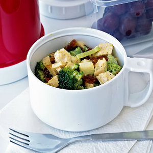Curried Chicken Salad with Broccoli and Dates