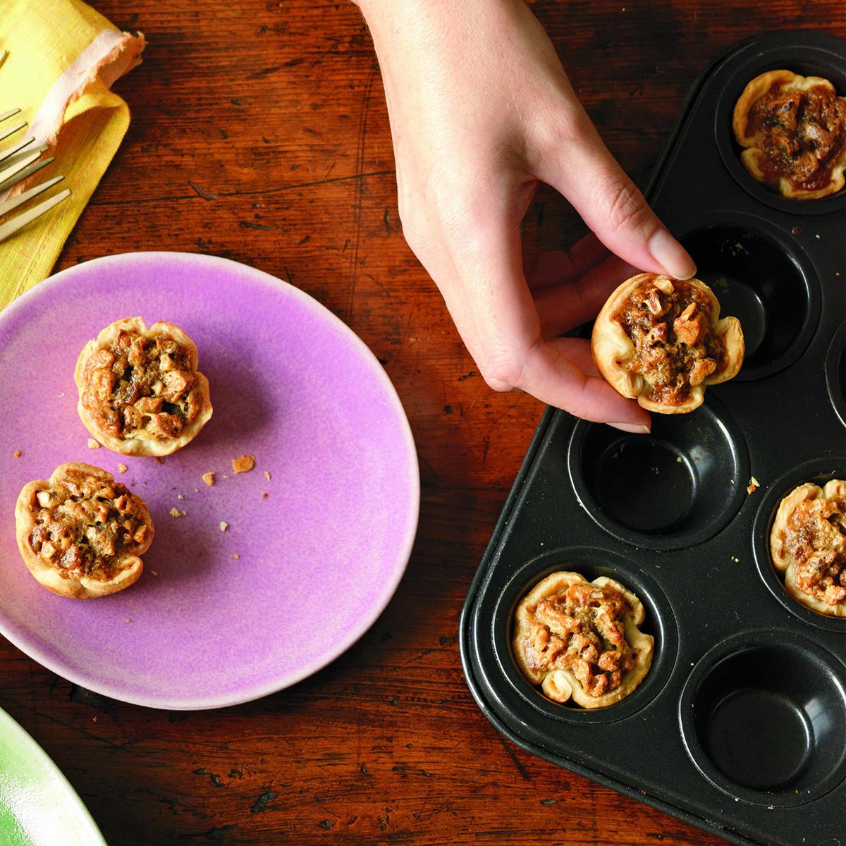 date nut mini tarts