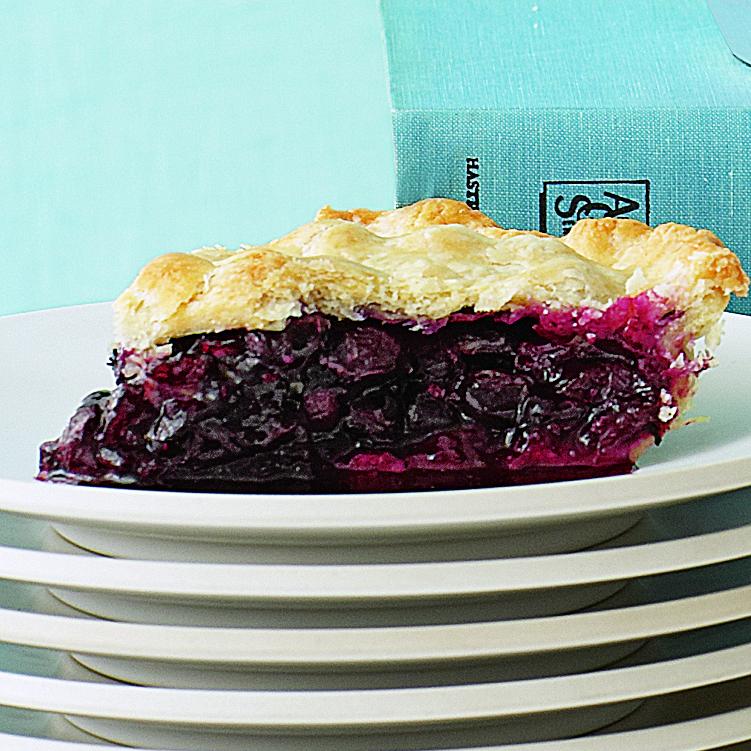 Double-Crust Maine Blueberry Pie