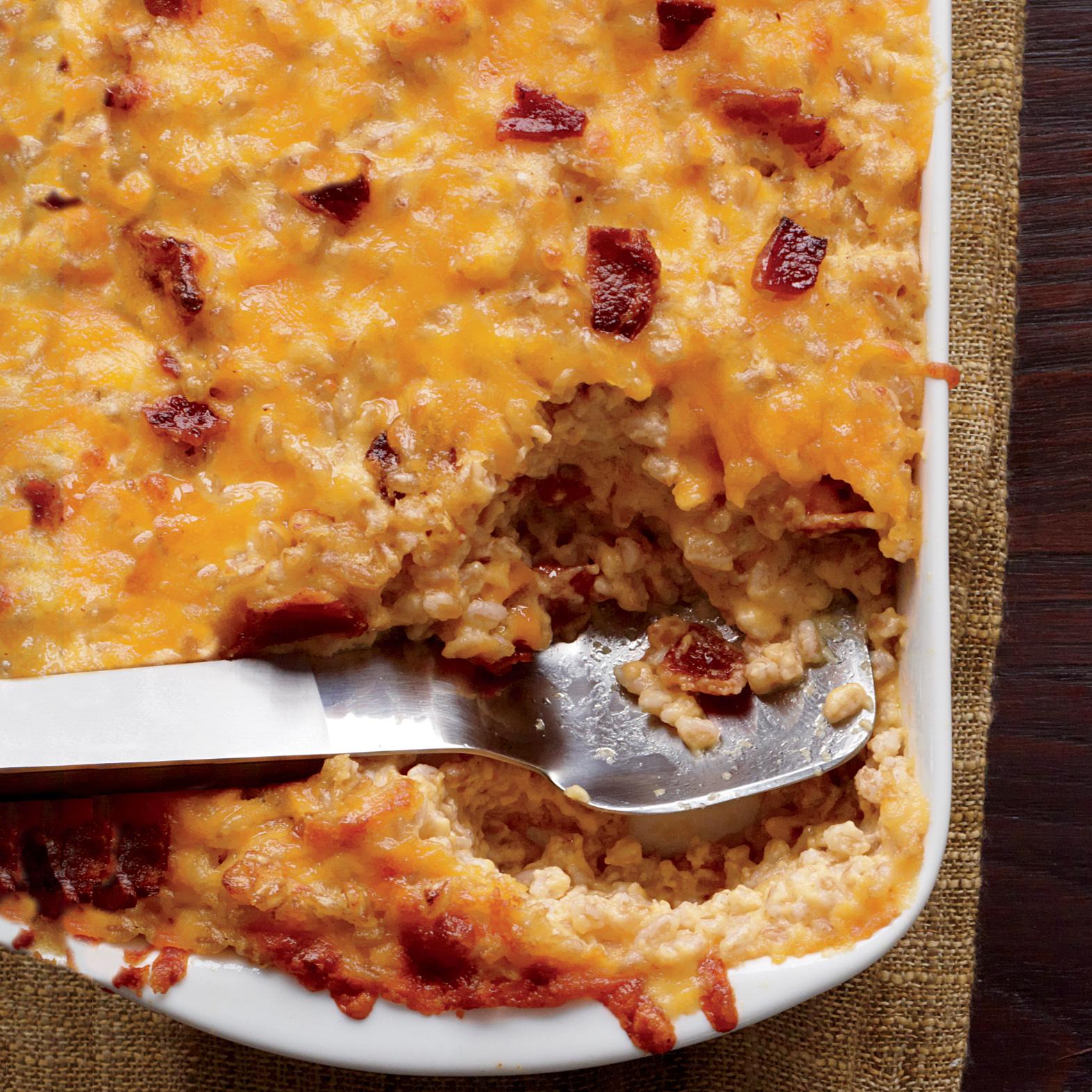 Farro Mac 'n' Cheese with Bacon