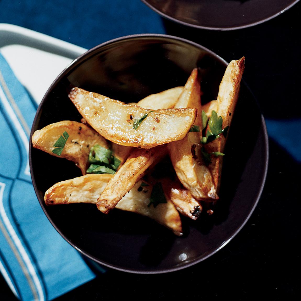 garlic cottage fries