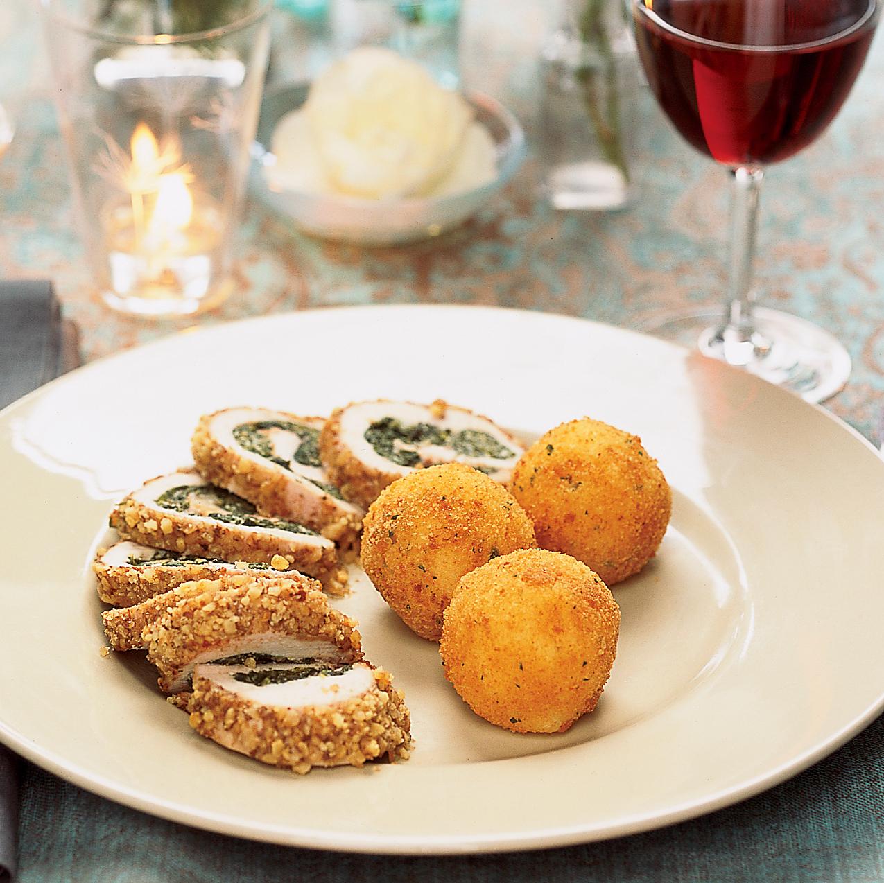 Garlic Mashed Potato Croquettes