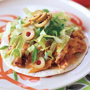 Giant Chicken Taco Nachos