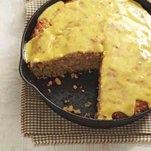 Glazed Cornmeal Cake