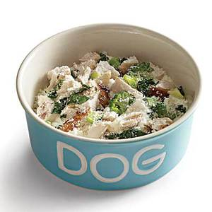 Green with Envy No-Cook Doggie Stew