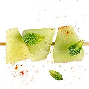 Honeydew with Sweet-Heat Lime Sauce