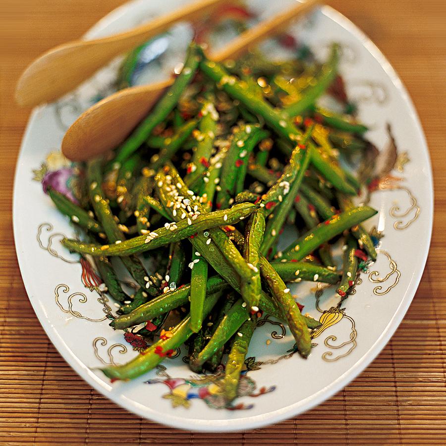 Hot Sesame Green Beans