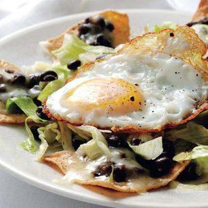 Huevos Rancheros Salad