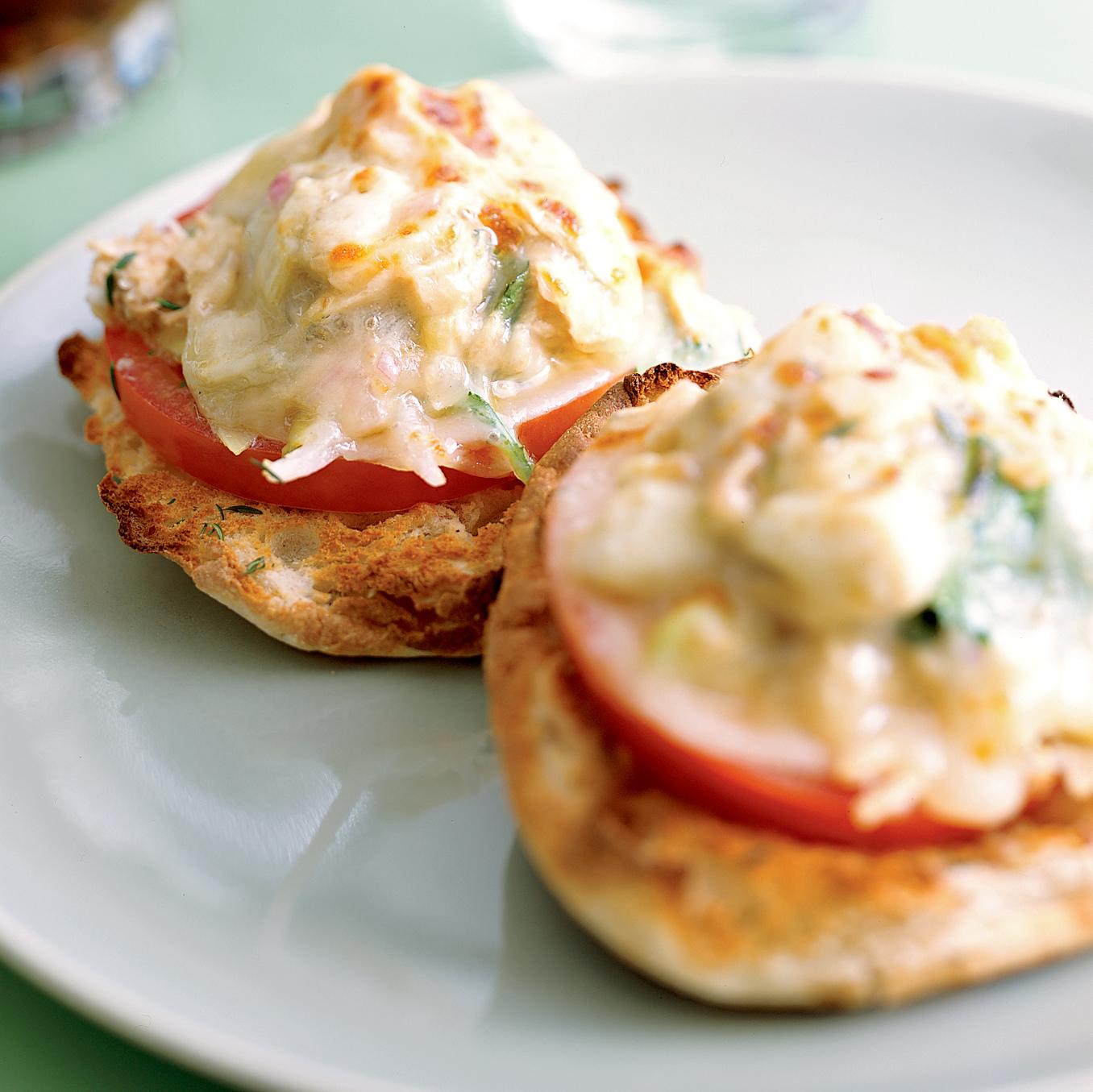 italian tuna salad melts