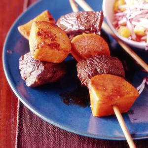 Jamaican-Style Beef Kebabs