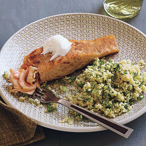 Lazy Salmon Supper