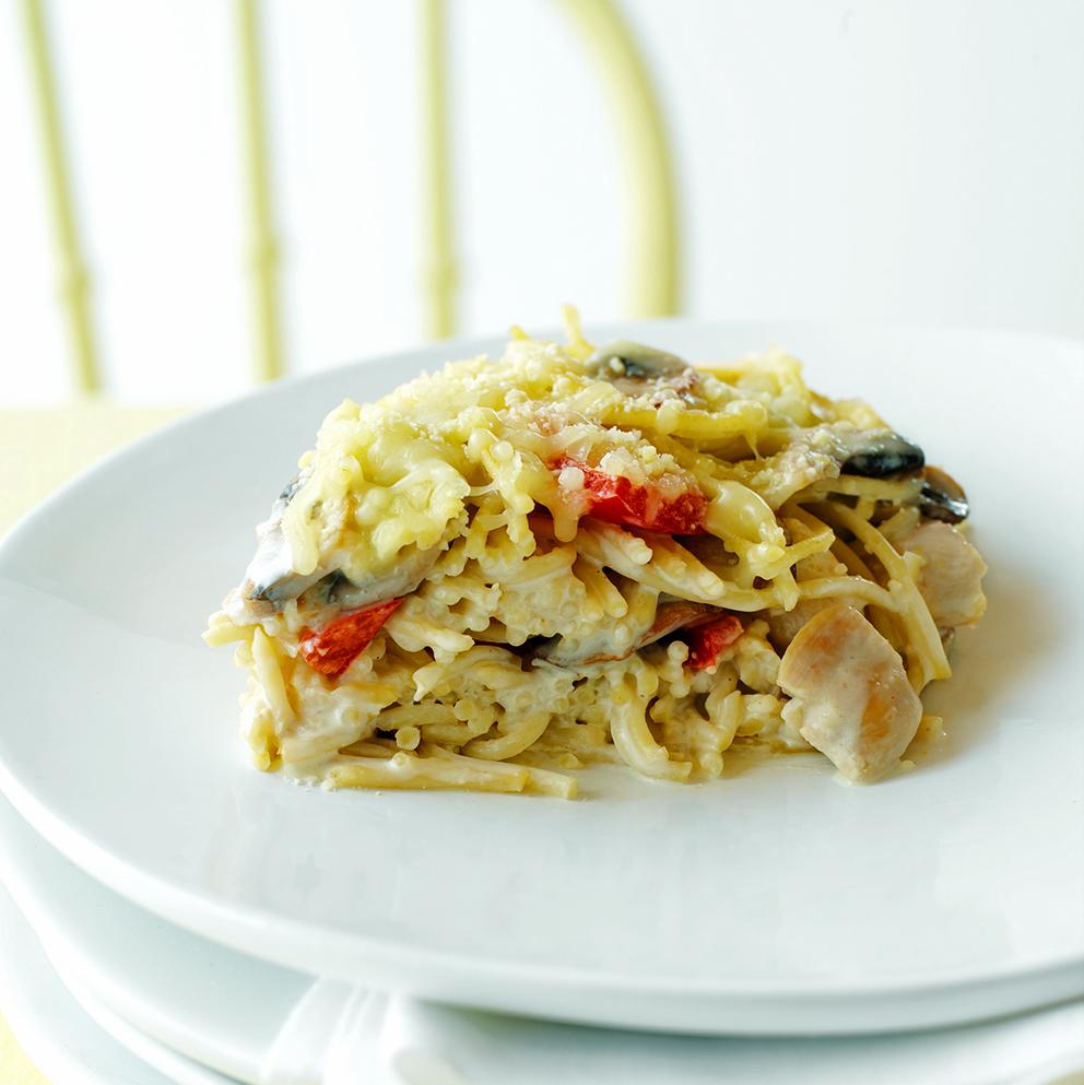 Made Over Chicken Tetrazzini