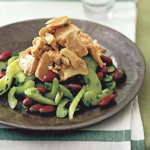 Mediterranean Celery and Tuna Salad