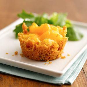 Mini Mac & Cheese Cakes
