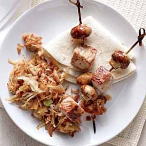 Moo Shu Pork Kebabs