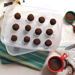 No-Bake Mocha Bonbons