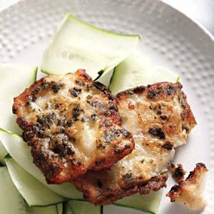 Nori-Fried Whitefish
