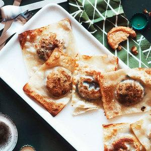 Pan-Fried Queso Fundido Dumplings