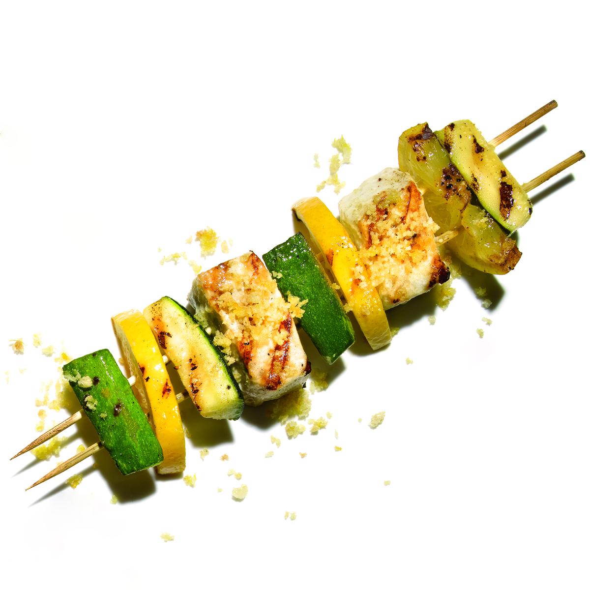 Parmesan-Crusted Swordfish
