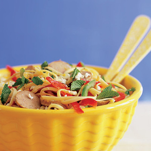 Pepper-Packed Pasta Salad