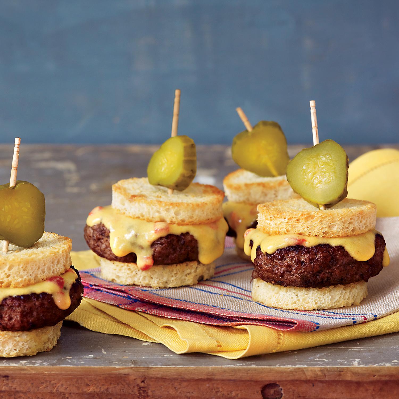 Pimiento Cheese Sliders