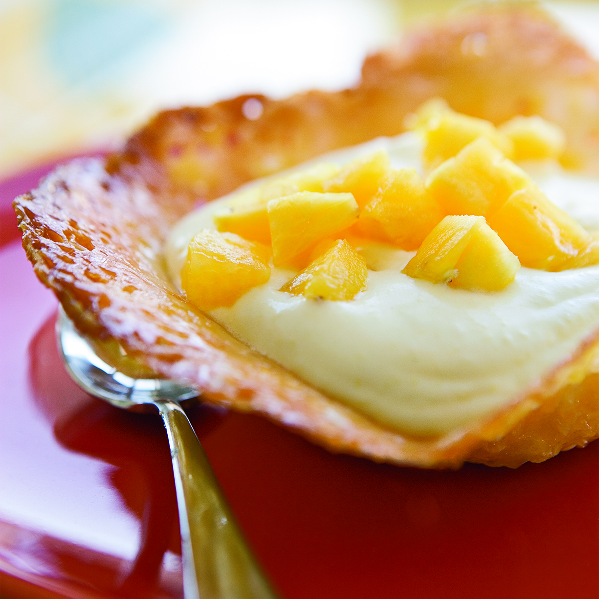 pineapple mousse cups