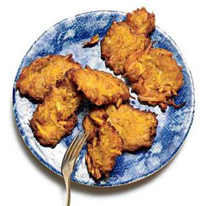 """Plantain """"Spider"""" Fritters"""