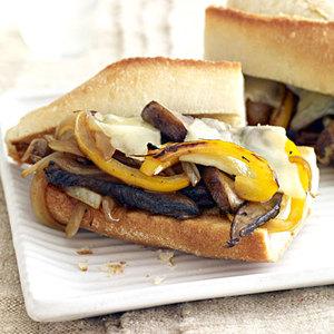 Portobello Philly-Style Sandwiches