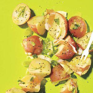 Potato Salad with Fennel and Prosciutto
