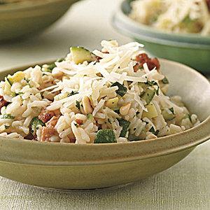 Sausage-and-Zucchini Rice