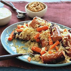 Sausages 'n' Sauerkraut