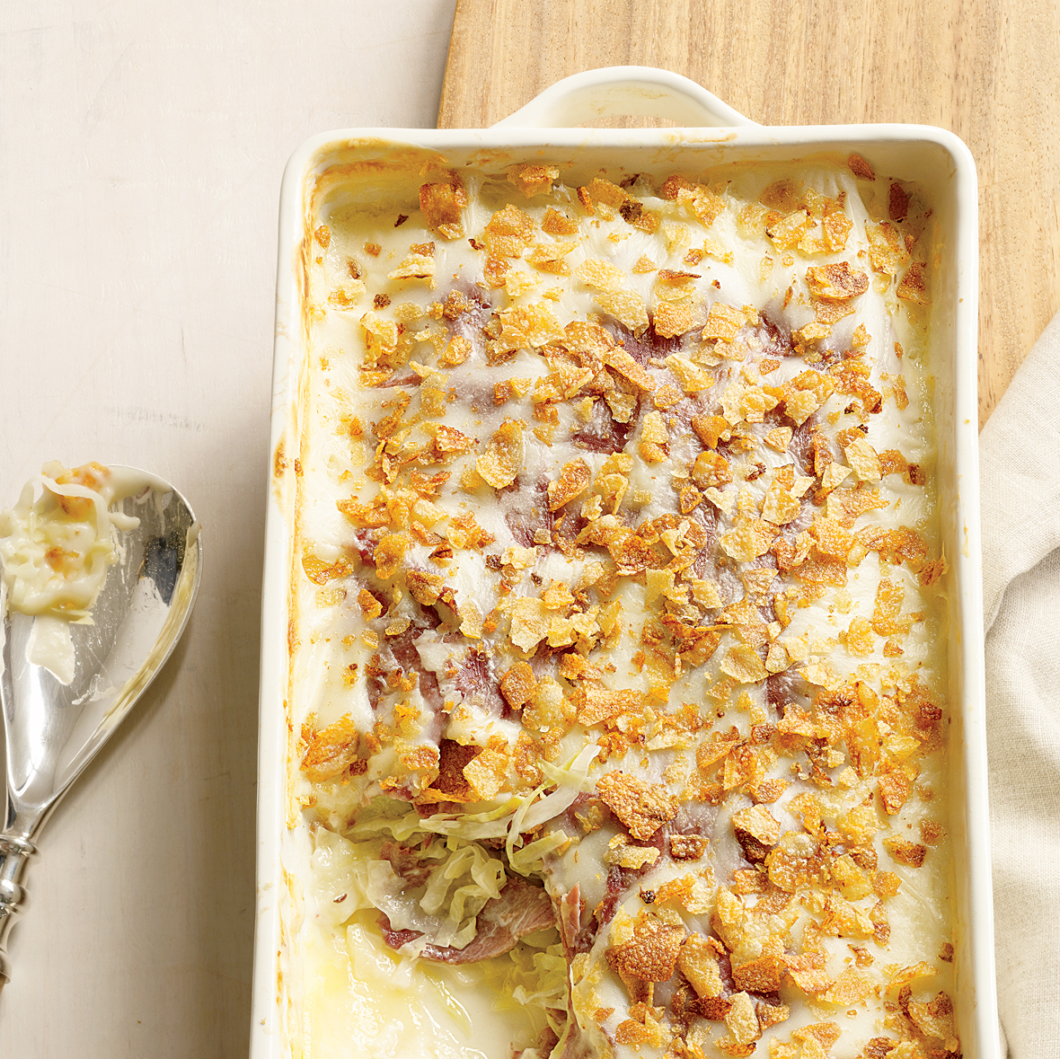 Scalloped Corned Beef and Cabbage