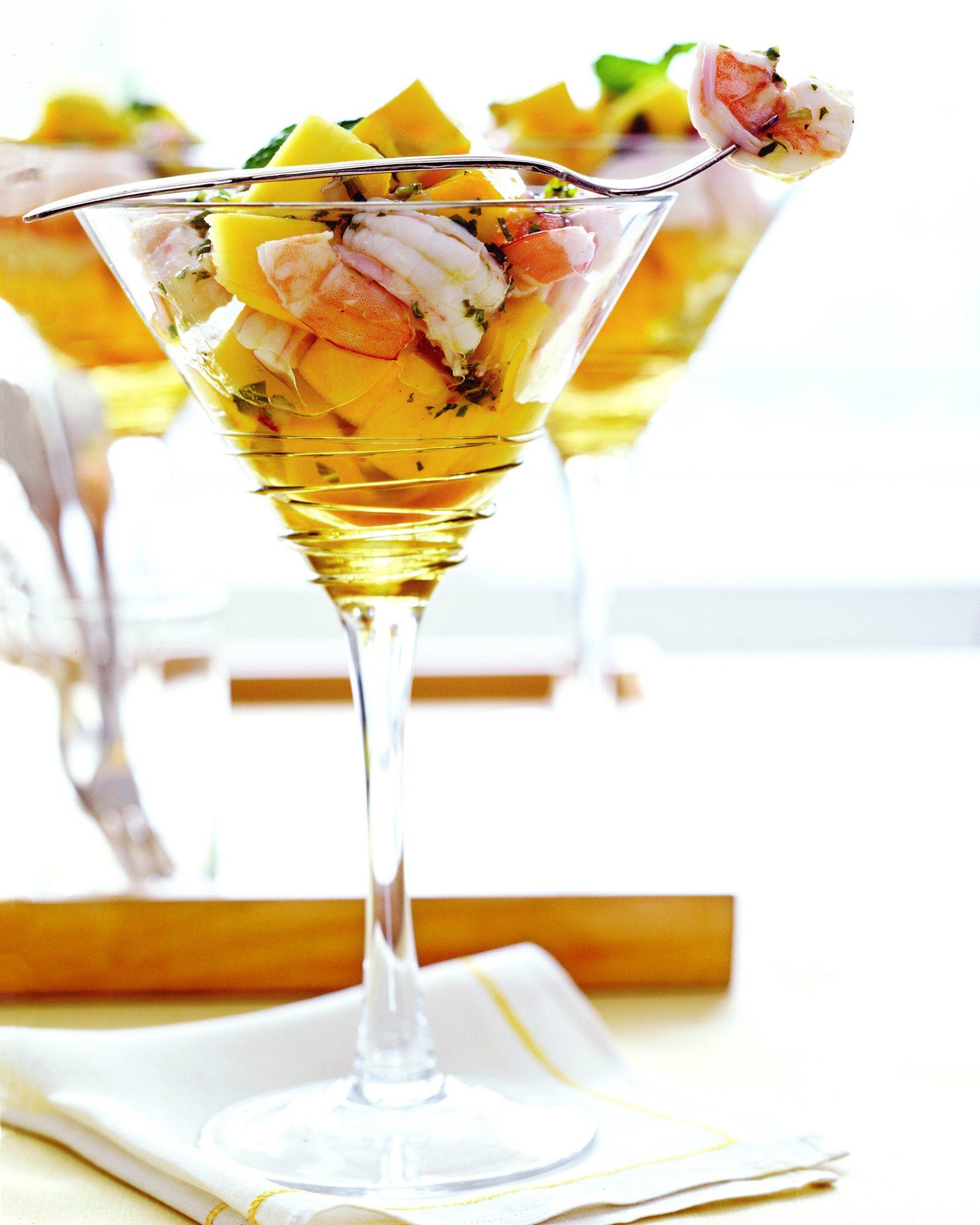 Shrimp and Mango Cocktail