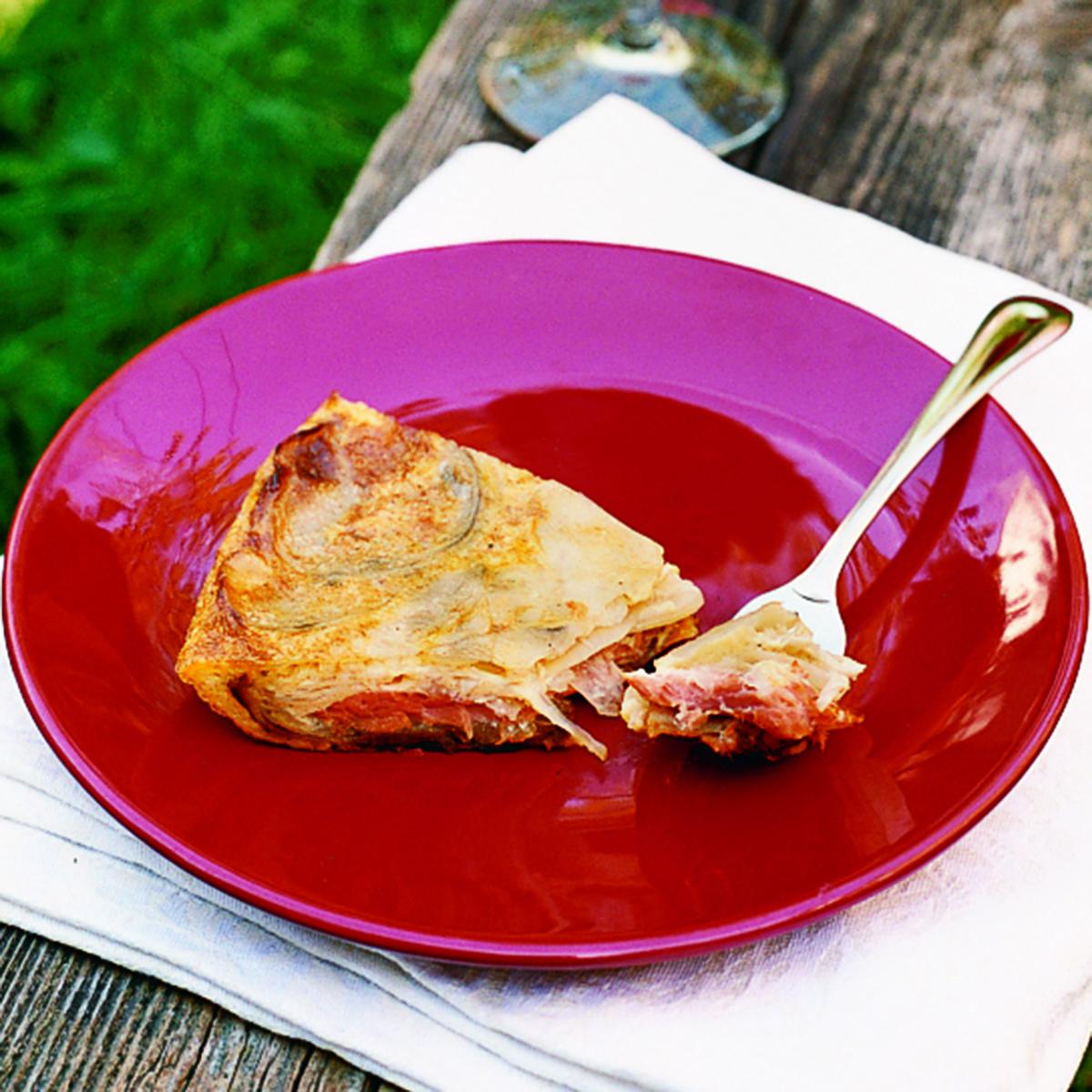 Smoked Salmon Spanish Tortilla