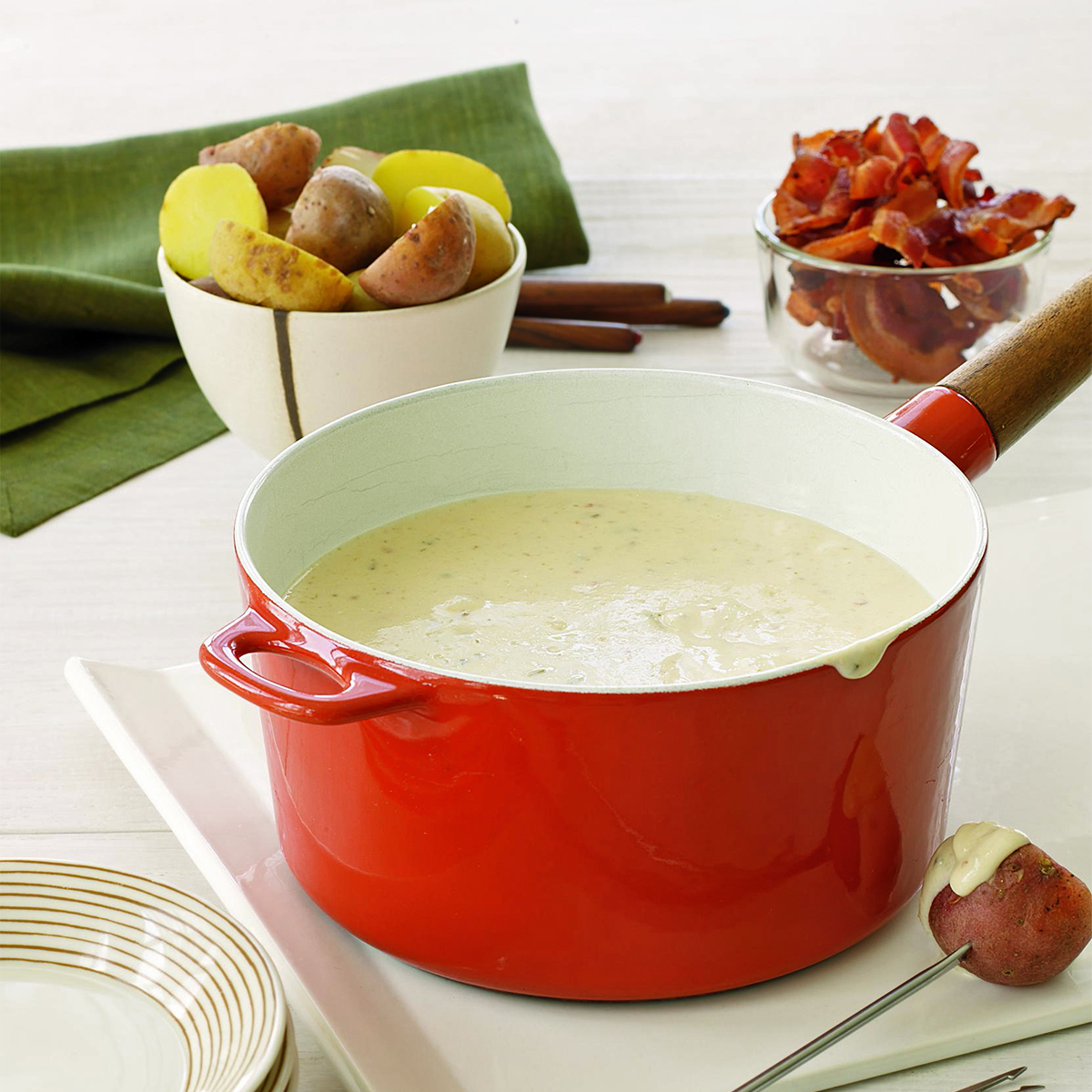 spicy cheese fondue