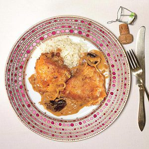 Stir-Fried Chicken Paprikash