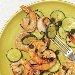 Stir-Fried Shrimp Scampi