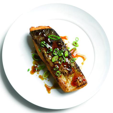 Super-Crispy Salmon Teriyaki