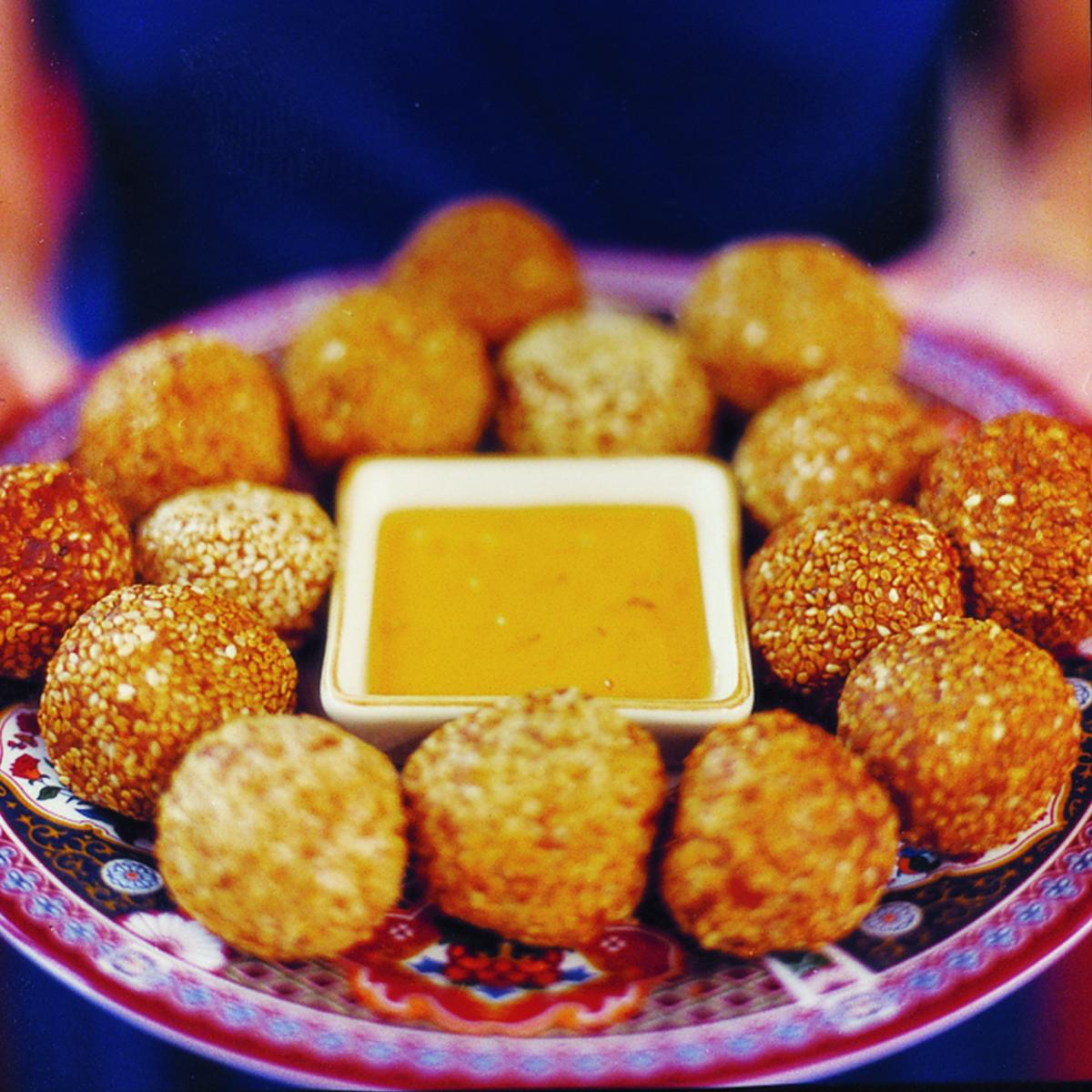 Sweet Sesame Balls