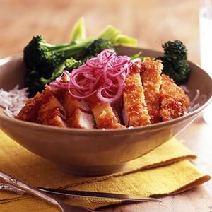 Sweet & Sour Pork Rice Bowl