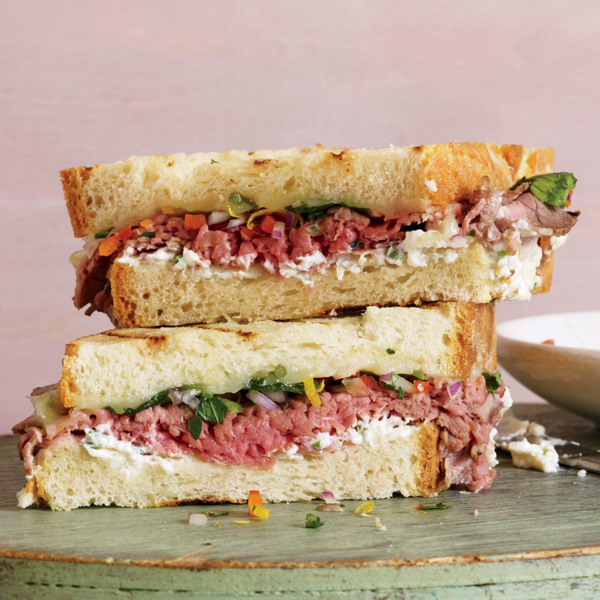 The Absolute Best Roast Beef Sandwich