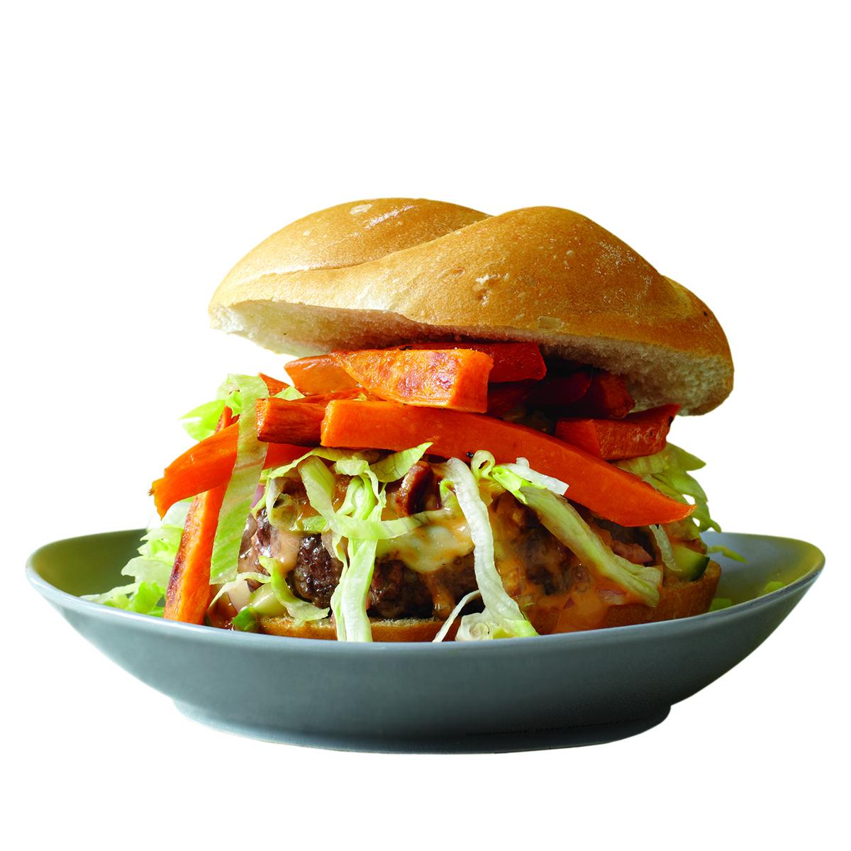 The Hot Mess Burger