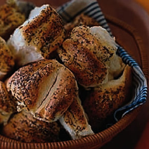 Three-Seed Dinner Rolls