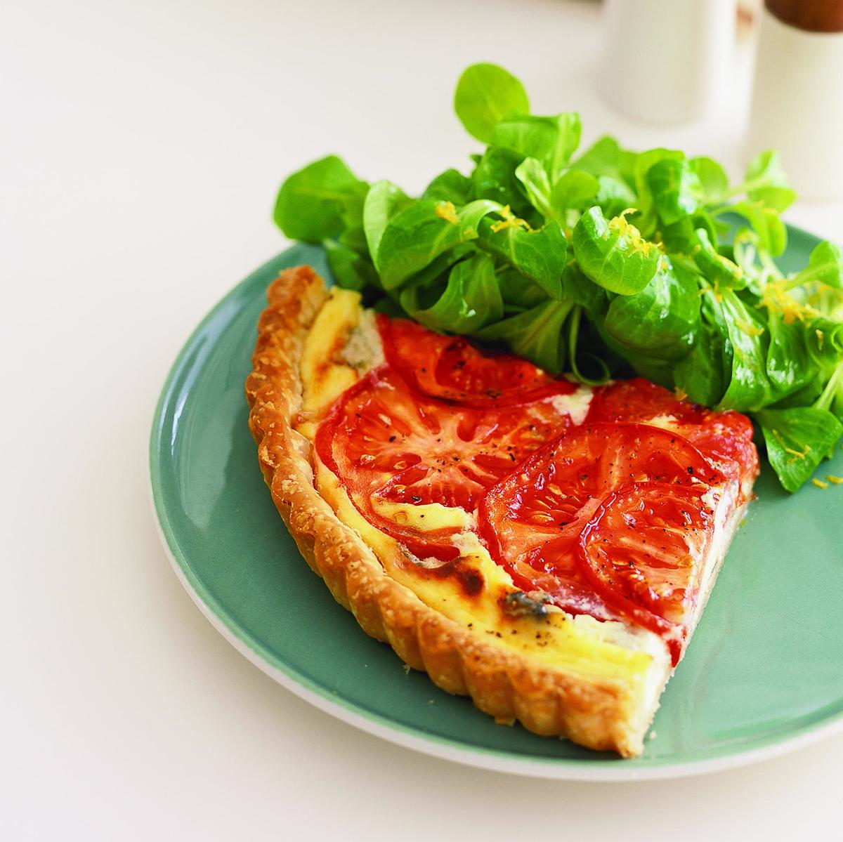 Tomato Blue Cheese Tart