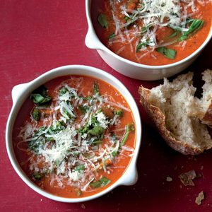 Tomato-Broccolini Soup