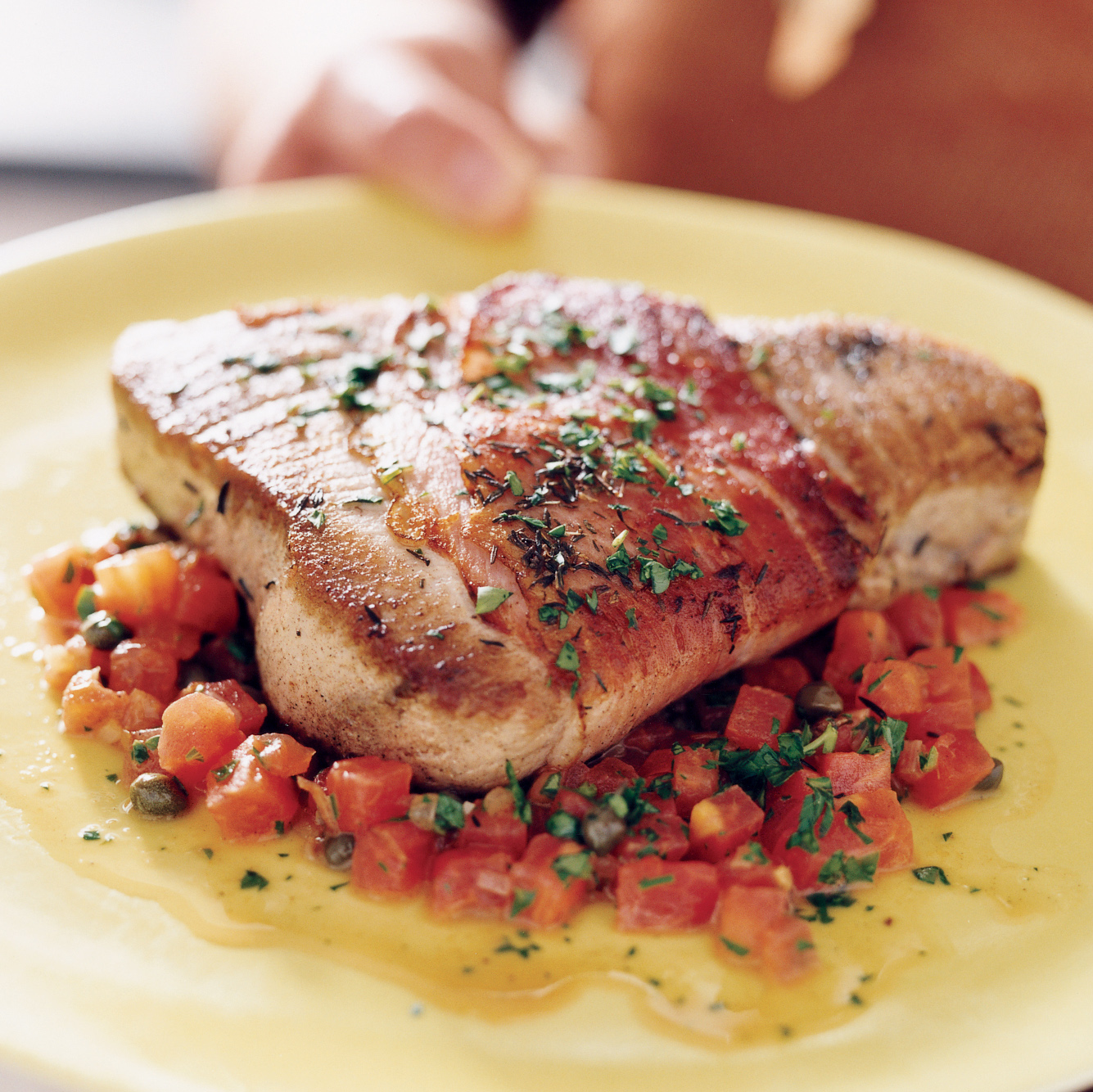 Tuna Steaks Provencale