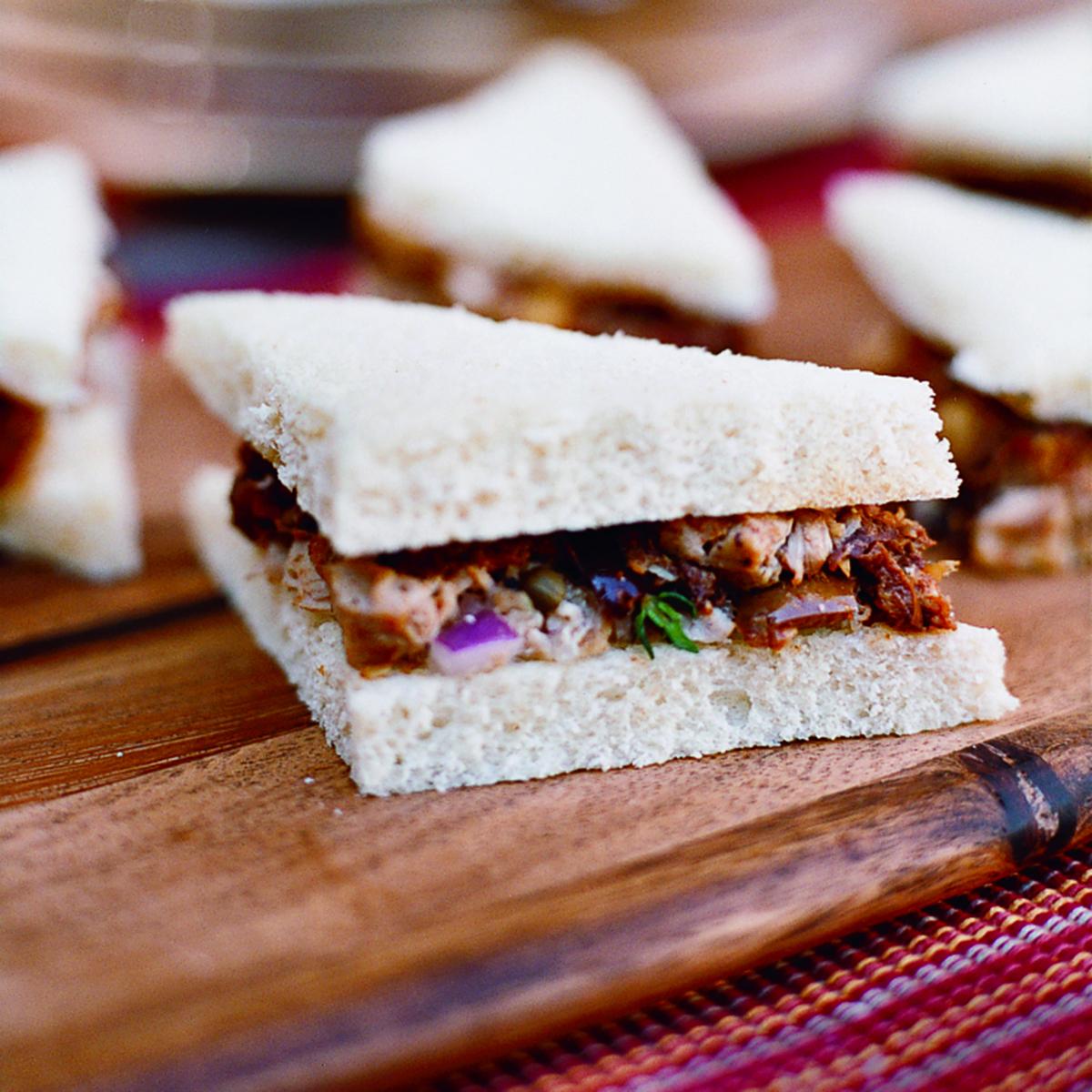 Tuna Tea Sandwiches